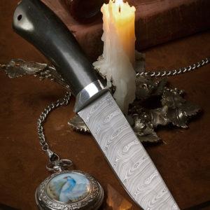Подарочный нож Лиса граб