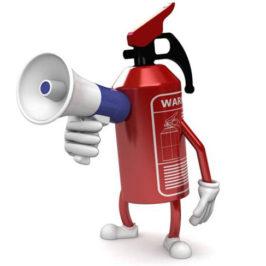 Рекомендации по выбору огнетушителя