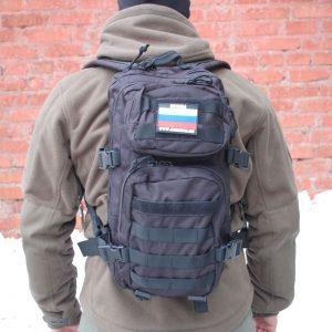 РЮКЗАК ШТУРМОВОЙ ТАКТИЧЕСКИЙ GSG-30 ЧЕРНЫЙ