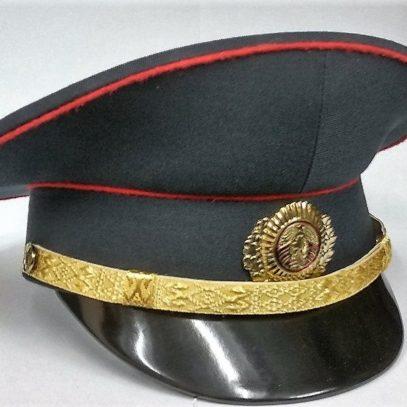 Фуражка сотрудника МВД